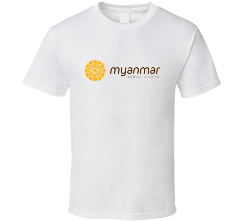 Nyanmar National Airlines Fan T Shirt