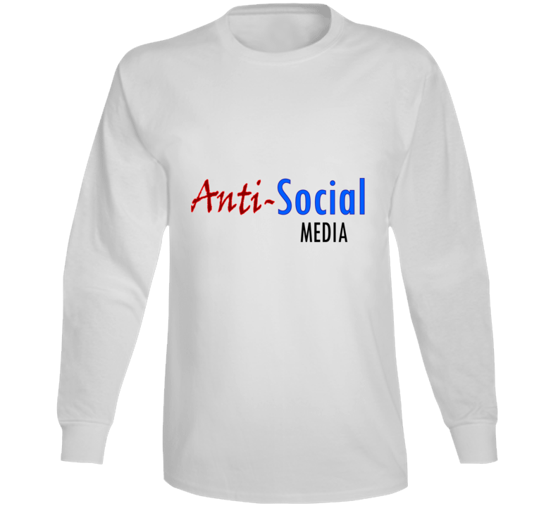 Social Media Long Sleeve T Shirt