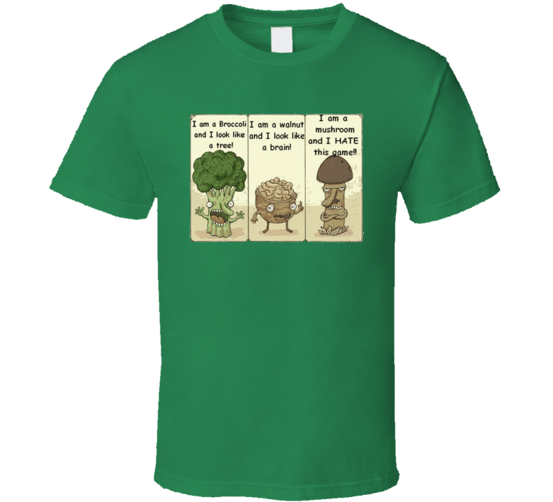 I'm A Mushroom And I Hate This Game T Shirt