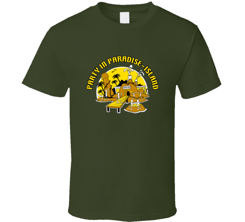 Party In Paradise Island T Shirt