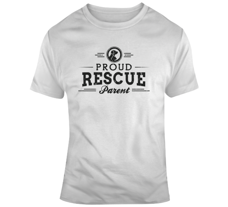 Proud Rescue Parent T Shirt