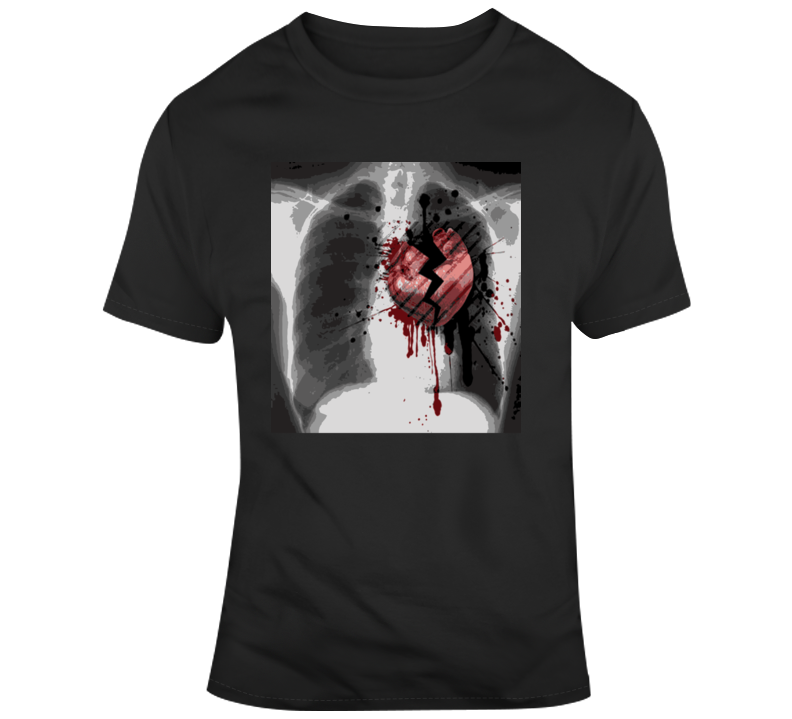 Broken Heart X-ray T Shirt