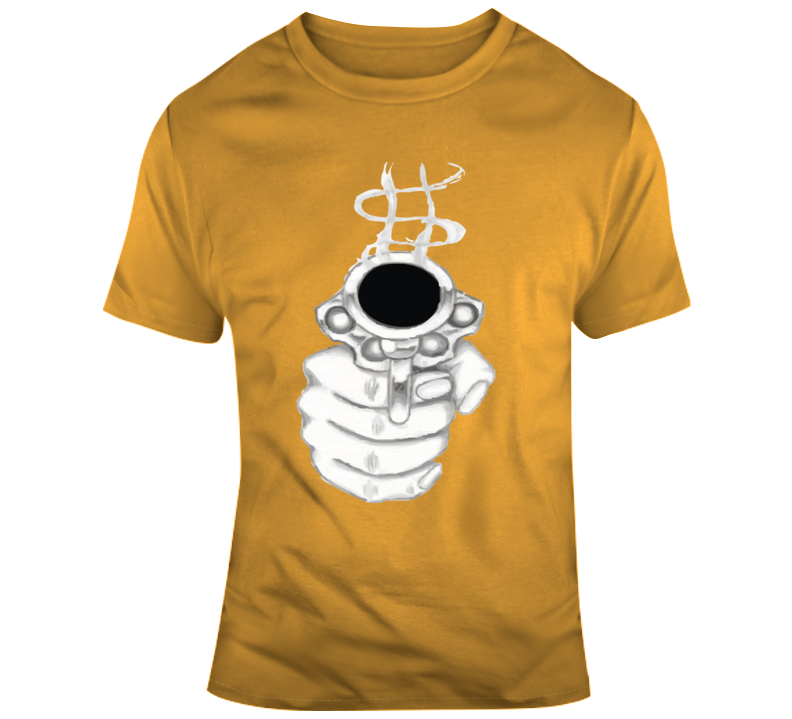 Smoking Gun, Pointed T Shirt