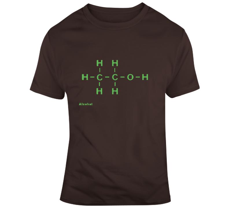 Alcohol Molecule T Shirt