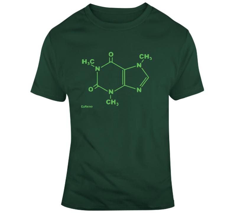 Caffeine Molecule  T Shirt