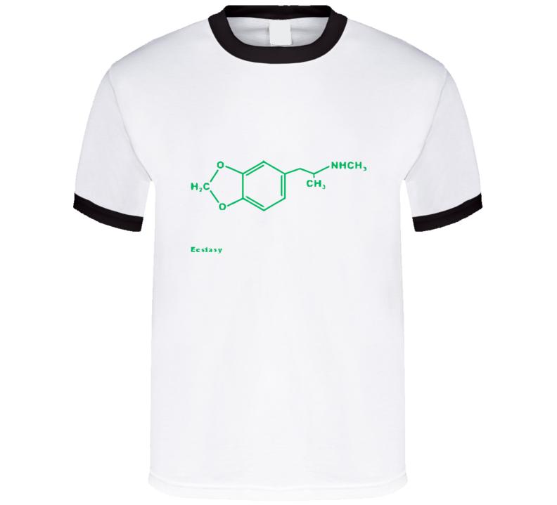 Ecstasy Molecule T Shirt