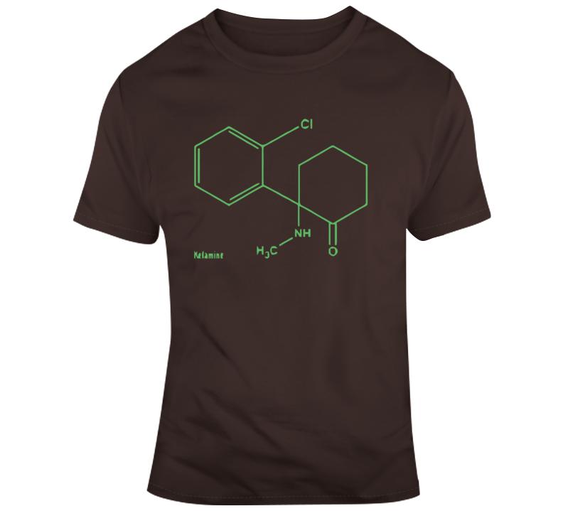 Ketamine Molecule T Shirt