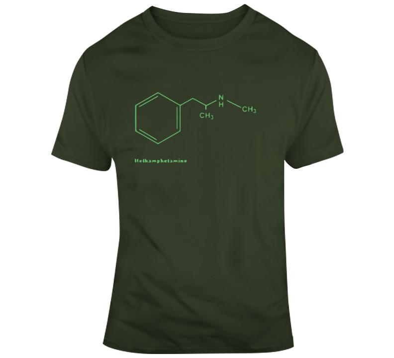 Methamphetamine Molecule  T Shirt