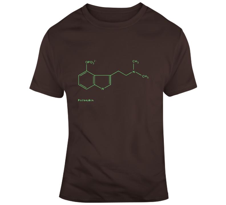 Psilocybin Molecule T Shirt
