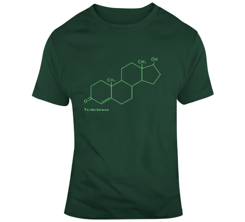 Testosterone Molecule T Shirt