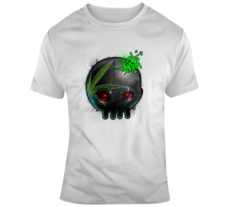 Kush Dynasty League Black Robot Head T Shirt