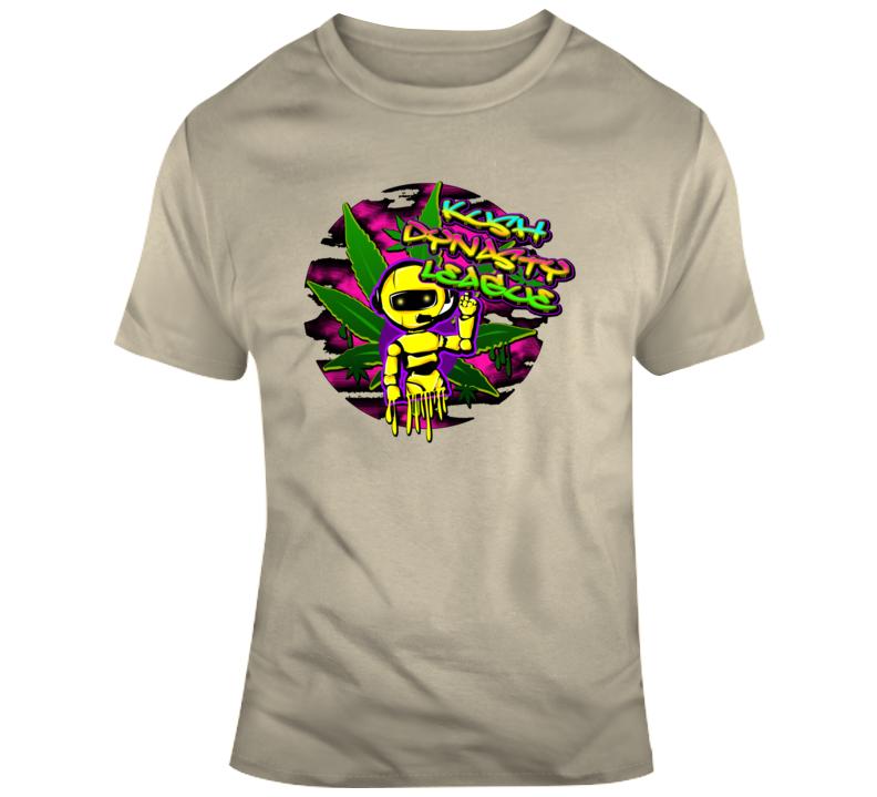 Kush Dynasty League Dripping Robot T Shirt