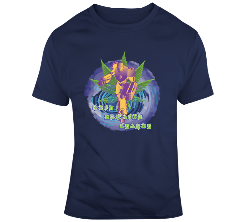 Kush Dynasty League Purple Swirl T Shirt