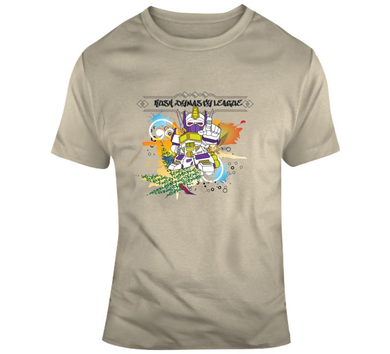 Kush Dynasty League Robot Splash T Shirt
