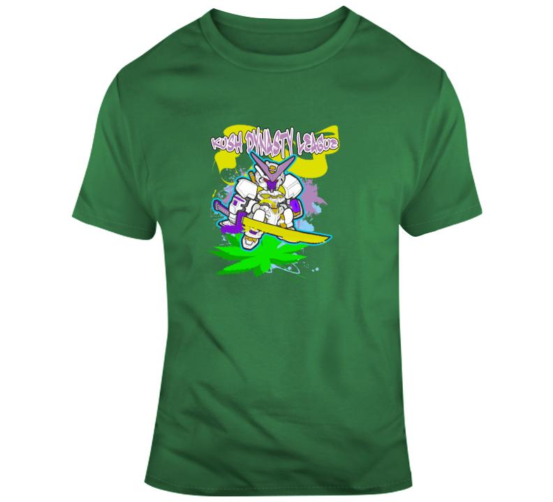 Kush Dynasty League Sword Robot Ranger T Shirt