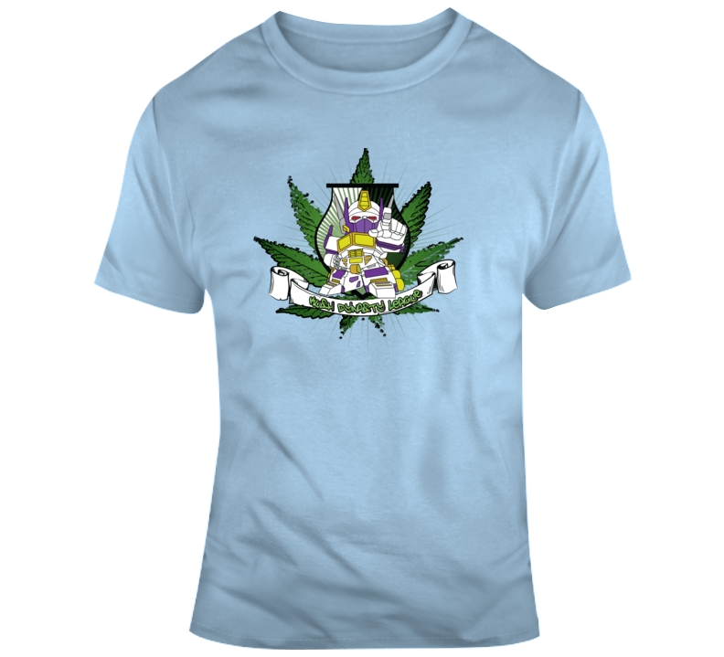 Kush Dynasty League White Robot Ranger T Shirt