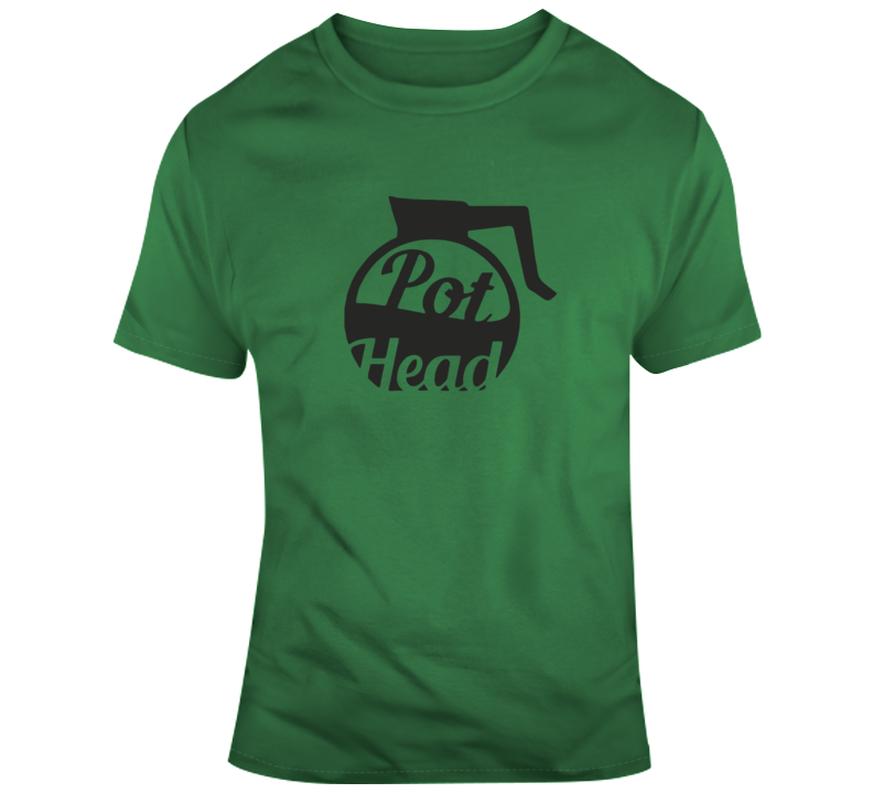 Pot Head Coffee Pot T Shirt