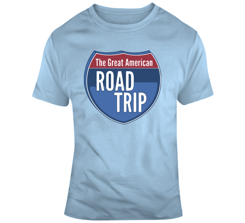 The Great American Road Trip Interstate Sign T Shirt