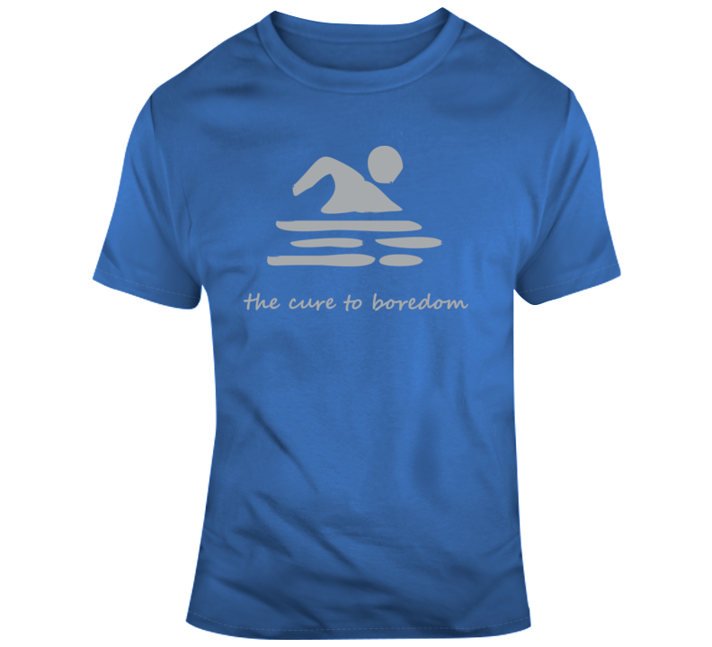 Swimming, Cure To Boredom T Shirt