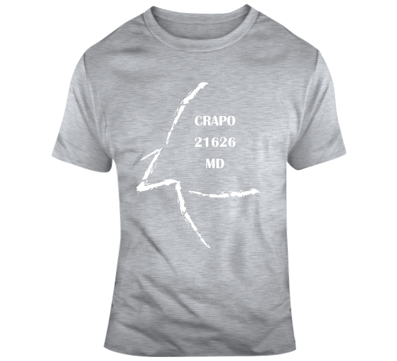 Crapo Md 21626 T Shirt