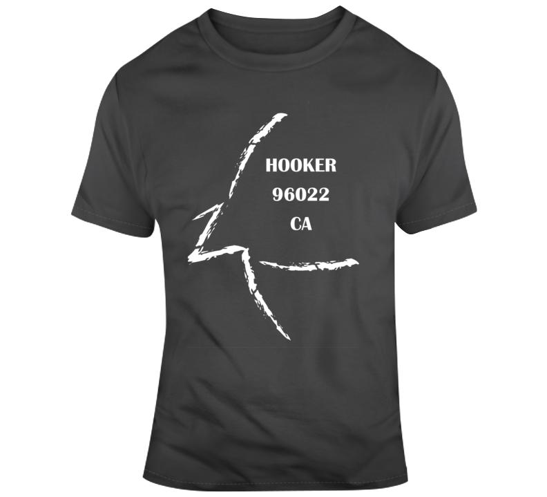 Hooker Ca 96022 T Shirt