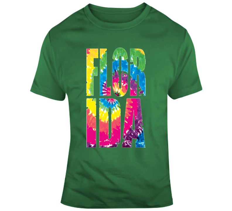 Florida Tie Dye T Shirt