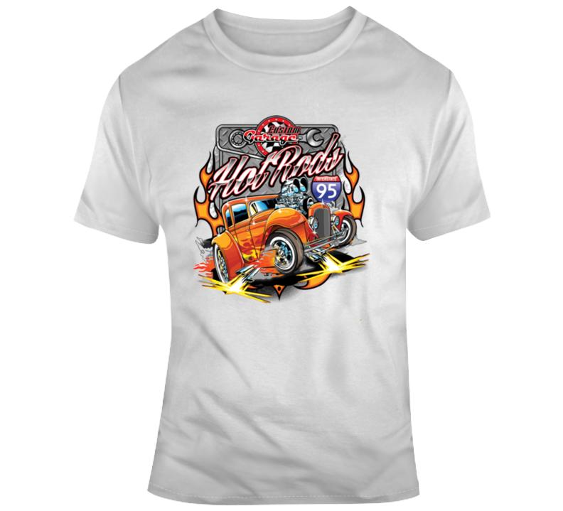 Custom Garage Hot Rods T Shirt