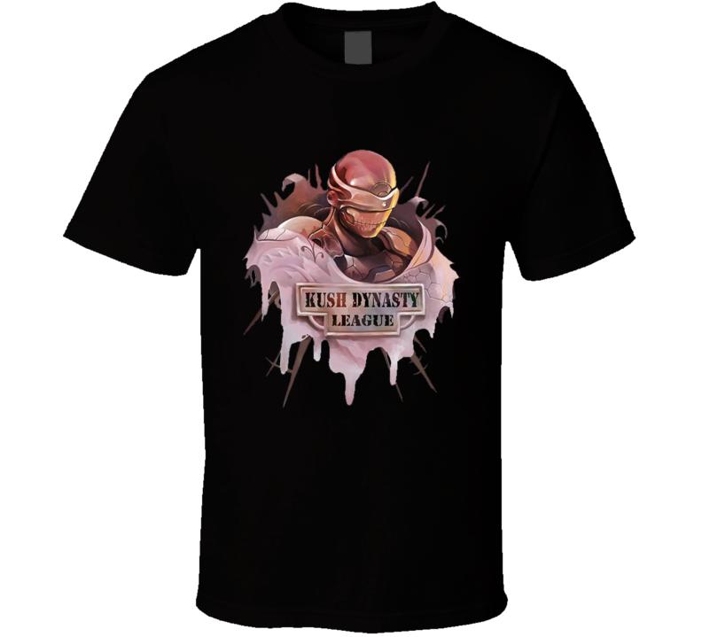 Kush Dynasty League Shield T Shirt