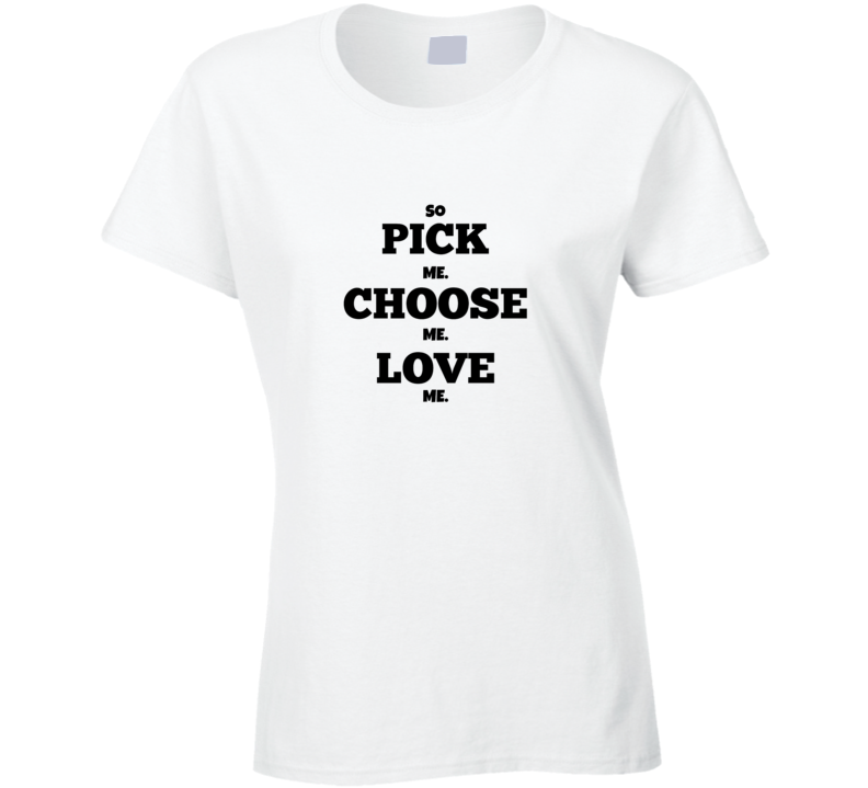 greys pick me t-shirt