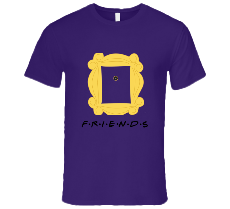 Friends Door Frame T-shirt  sc 1 st  The T Shirt Chick : friends door - pezcame.com