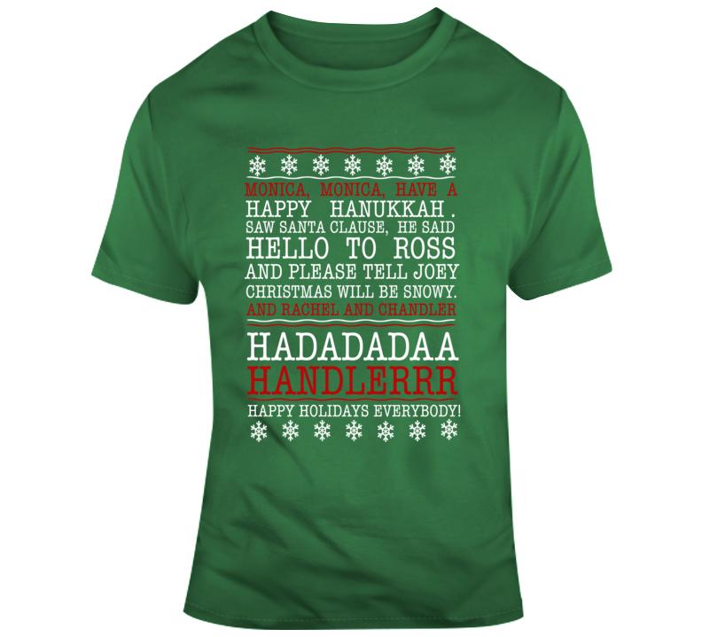 Friends Phoebe Christmas Song Tshirt