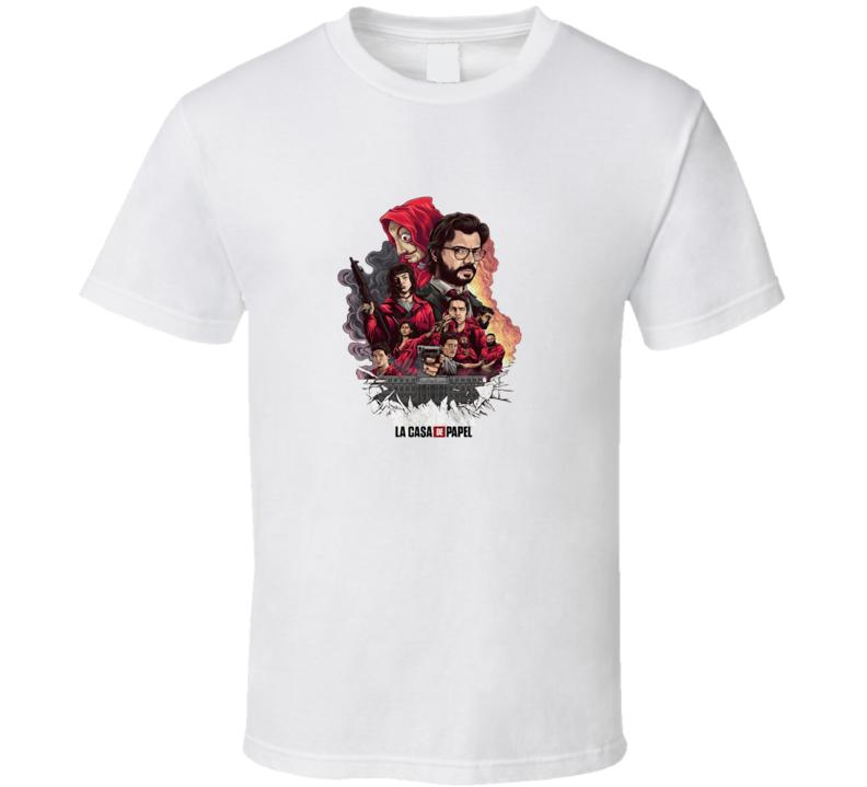 Money Heist La Casa De Papel T Shirt