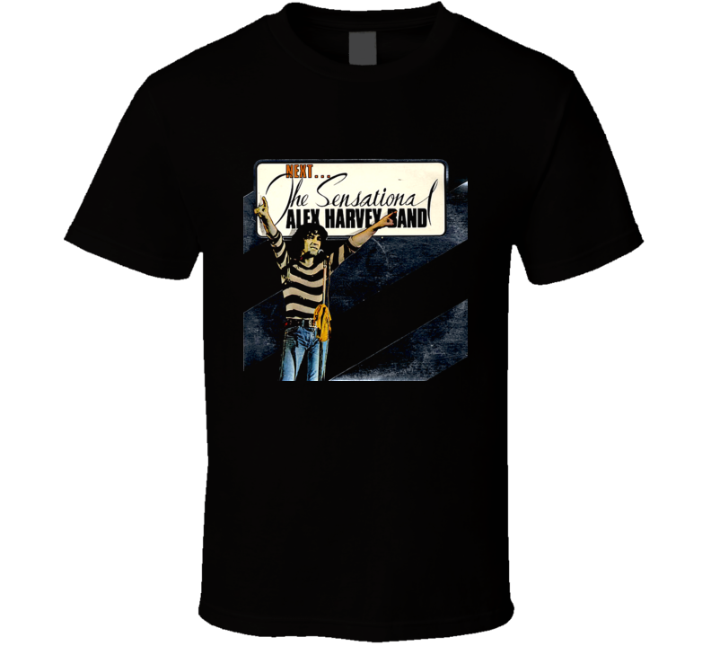 The Sensational Alex Harvey Band SAHB T Shirt