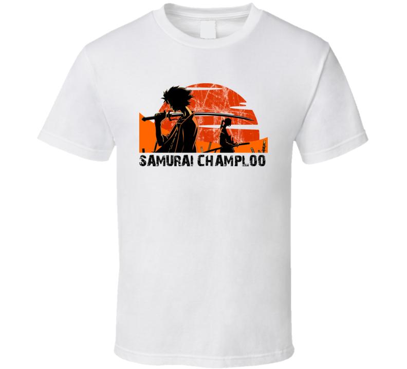 Samurai Champloo Japanese Anime Manga T Shirt