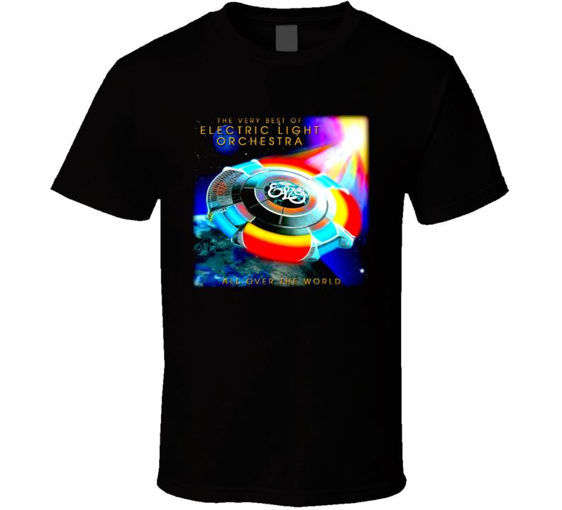 Elo Electric Light Orchestra Rock Music T Shirt