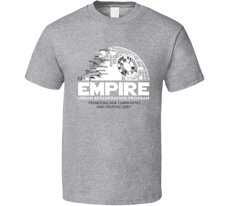 Star Wars Empire Rebuild Darth Death Star T Shirt