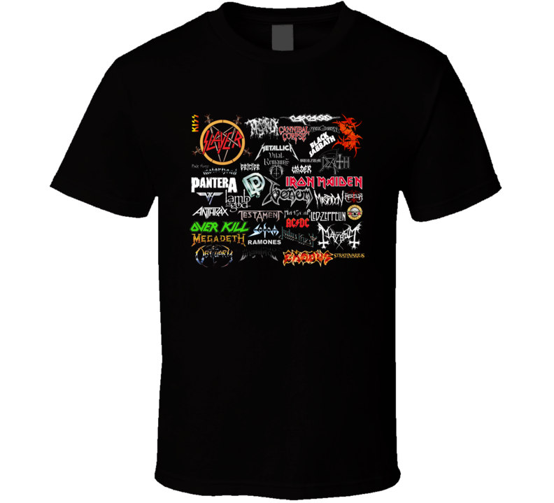 80s Classic Rock Band Retro Music T Shirt