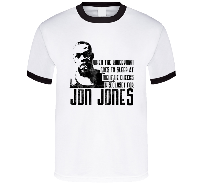 Jon Jones Bones Mma Mixed Fighter T Shirt