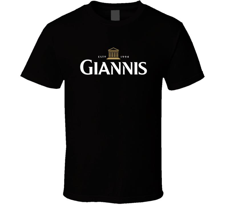 Giannis Antetokounmpo Established 1994 Milwaukee Basketball T Shirt