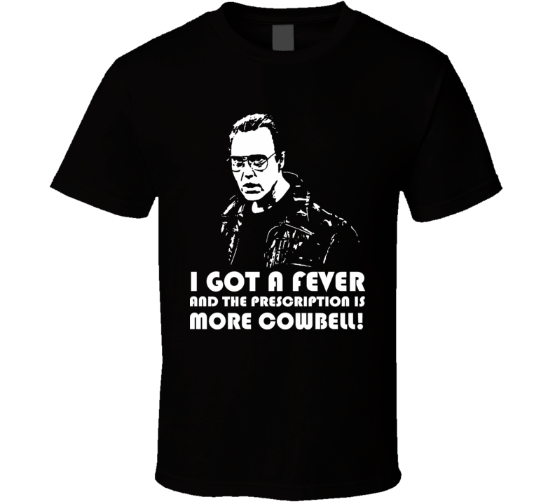 Saturday Night Live SNL More Cowbell T Shirt