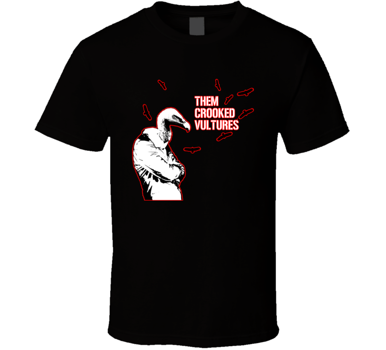 Them Crooked Vultures Music T Shirt