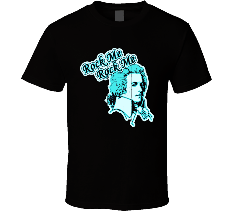 Rock Me Amadeus Retro Music T Shirt
