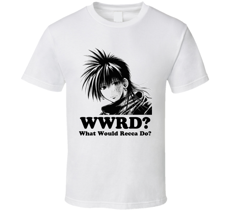 Flame of Recca Anime T Shirt