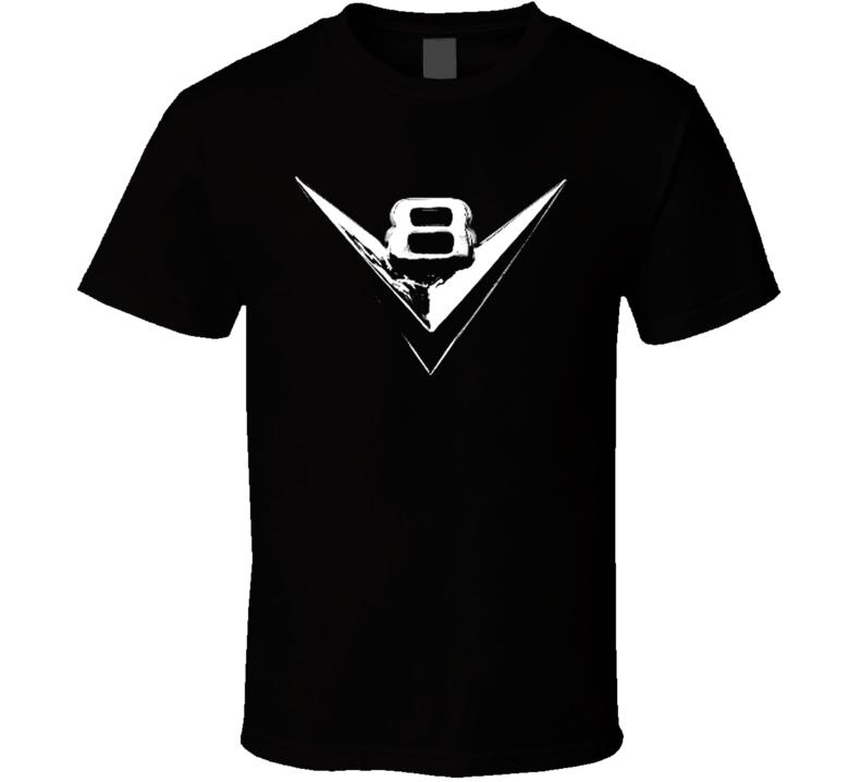 Classic V8 Emblem Car T Shirt