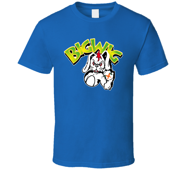 Bigwig Punk Rock Retro T Shirt