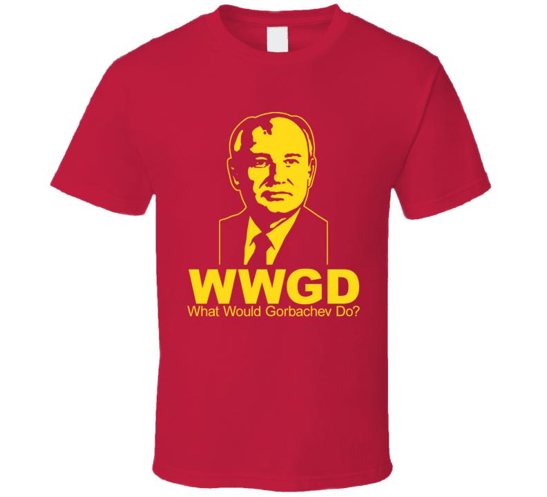 Mikhail Gorbachev WWJD Soviet Union T Shirt