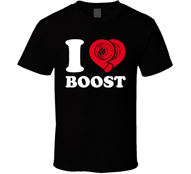I Heart Boost Racing T Shirt