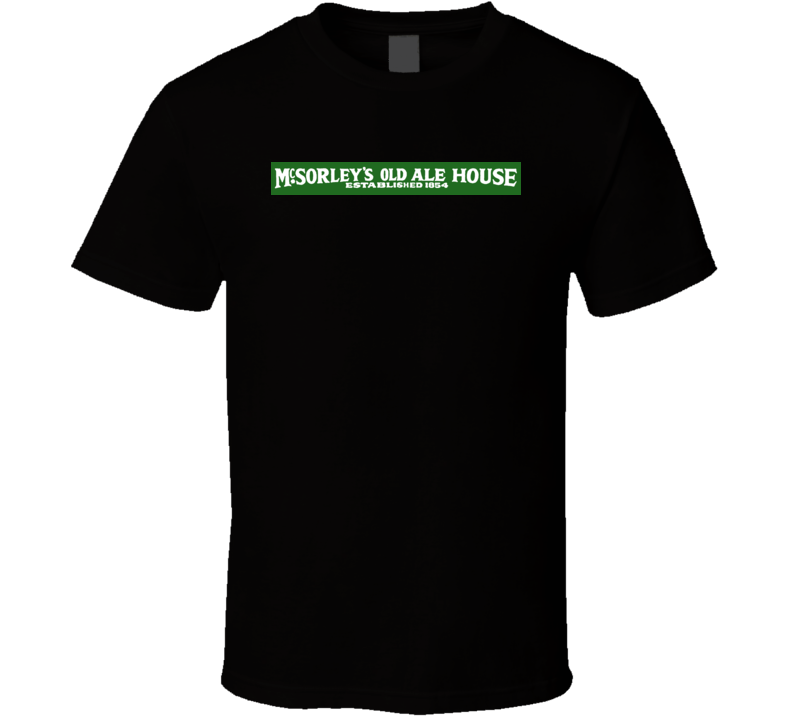 Mcsorleys New York Beer T Shirt