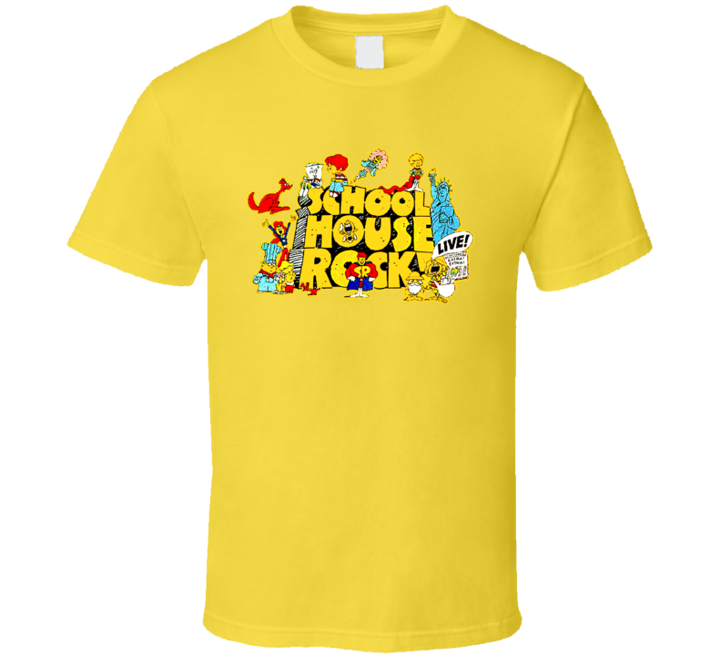 School House Rock 70s T Shirt
