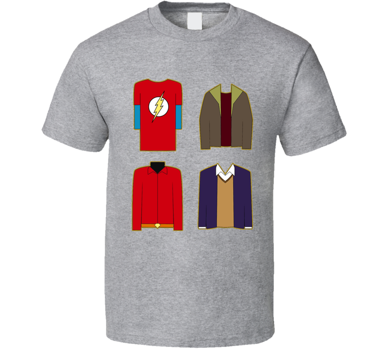 The Big Bang Theory Sheldon Clothes T Shirt